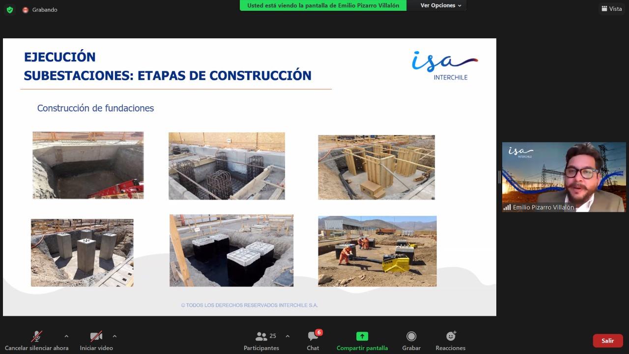 FUTURO TÉCNICO E ISA INTERCHILE DAN INICIO A WEBINAR PARA VINCULAR EL SECTOR FORMATIVO CON EL MUNDO LABORAL