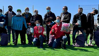 Niños y niñas de Freirina participan en primer torneo de futbol desde el inicio de la pandemia