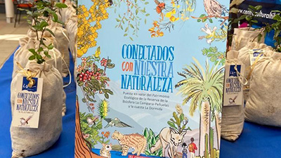 """Lanzamiento libro """"Conectados con Nuestra Naturaleza"""""""